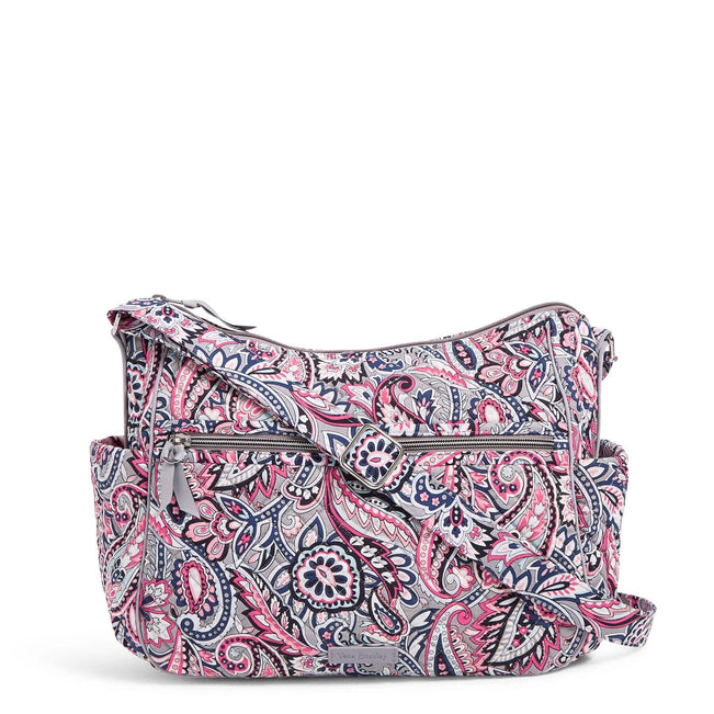 Large On the Go Crossbody-Gramercy Paisley-Image 1-Vera Bradley