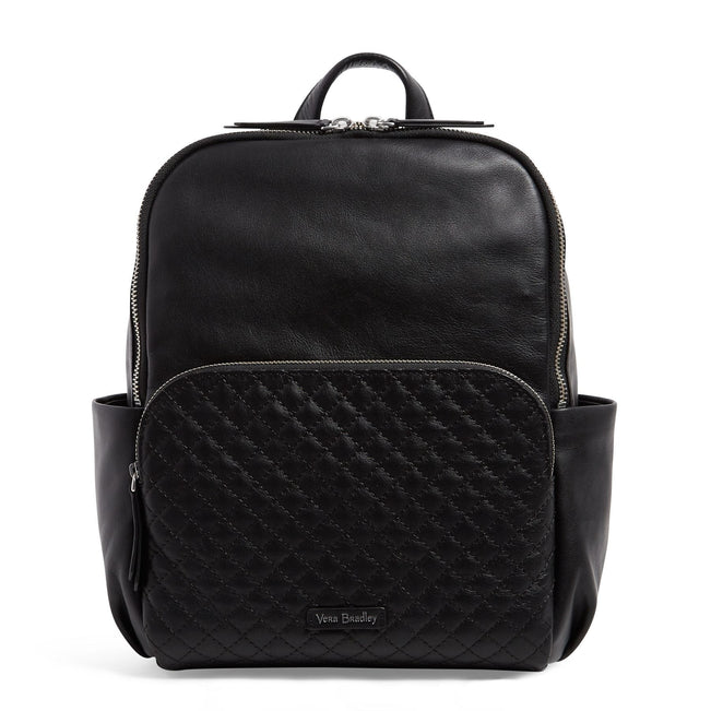 Carryall Backpack-Gallatin Black-Image 1-Vera Bradley