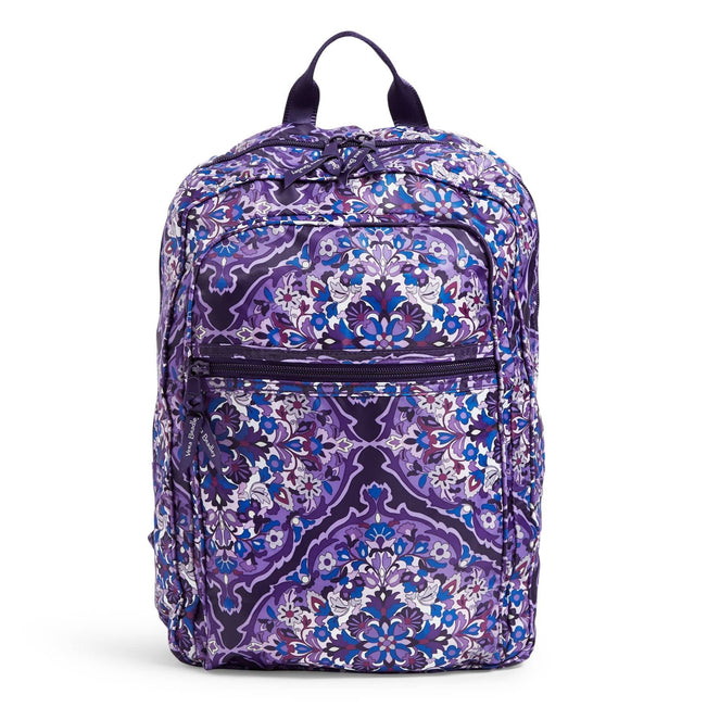 Packable Backpack-Regal Rosette-Image 1-Vera Bradley