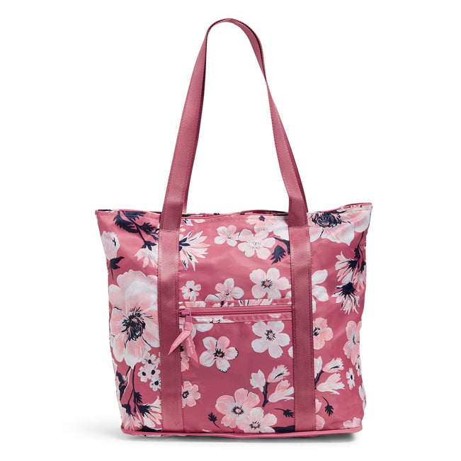 Packable Tote Bag-Strawberry Grand Garden-Image 1-Vera Bradley
