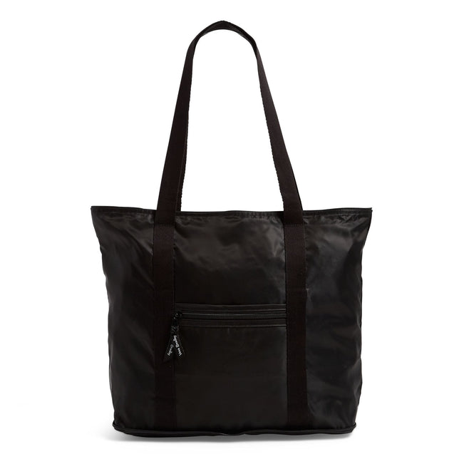Packable Tote Bag-Black-Image 1-Vera Bradley
