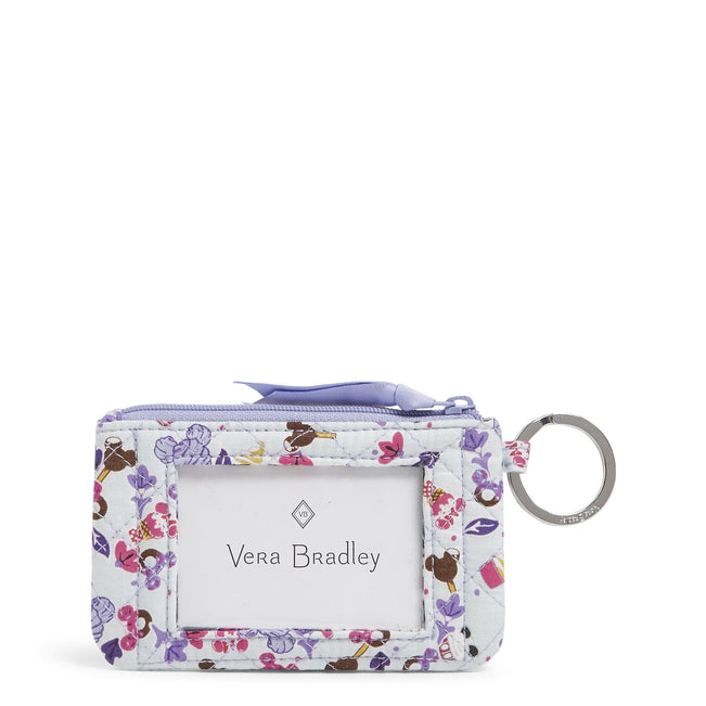Disney Zip ID Case-Sweet Treat Ditsy-Image 1-Vera Bradley
