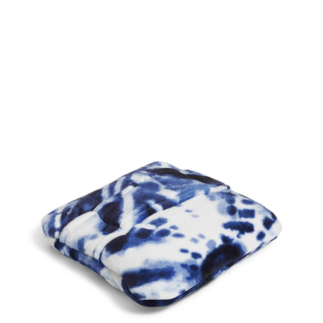 Plush Fleece Travel Blanket-Island Tie-Dye-Image 1-Vera Bradley