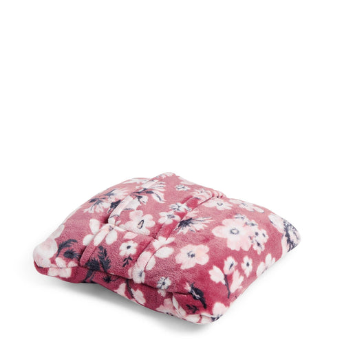 Plush Fleece Travel Blanket-Strawberry Grand Garden-Image 1-Vera Bradley