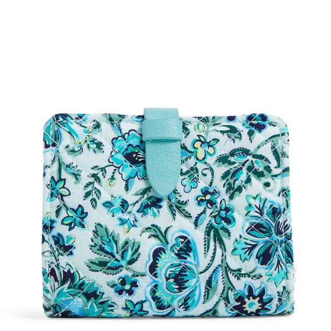 RFID Small Wallet-Cloud Vine-Image 1-Vera Bradley