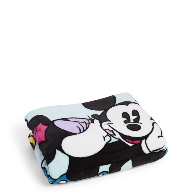 Plush Throw Blanket-Mickey's Colorful Garden-Image 1-Vera Bradley
