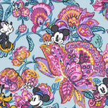 Disney Plush Throw Blanket-Mickey's Colorful Garden-Image 3-Vera Bradley