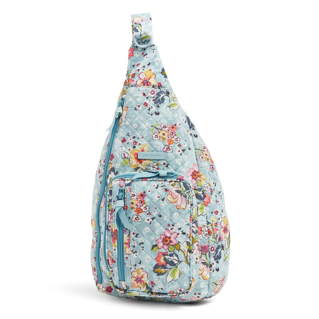 Sling Backpack-Floating Garden-Image 1-Vera Bradley