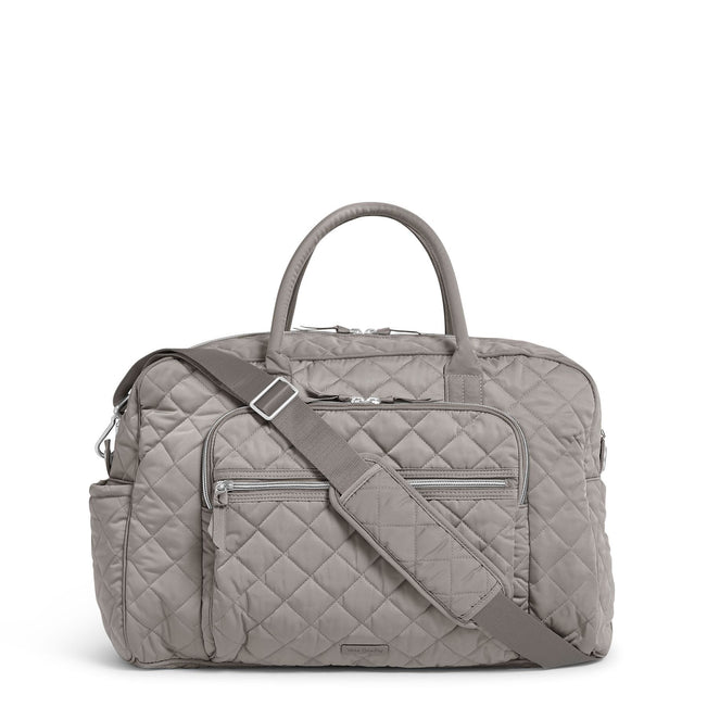 Weekender Travel Bag-Performance Twill Tranquil Gray-Image 1-Vera Bradley