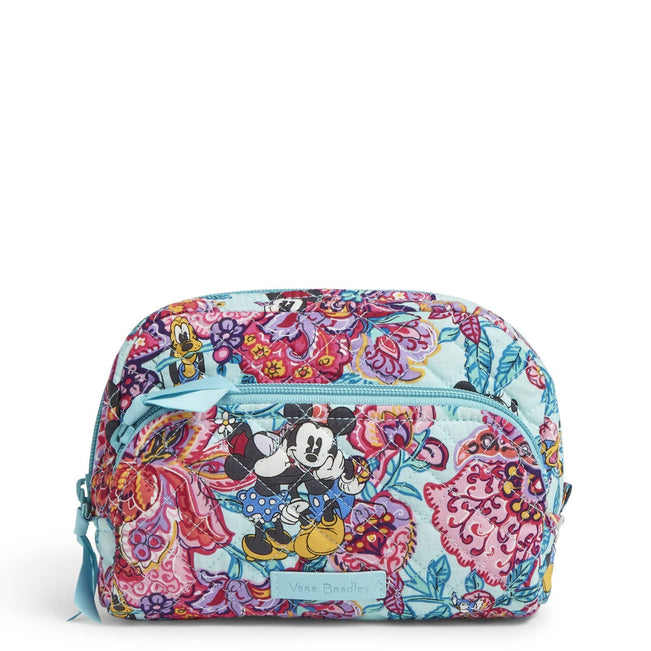 Medium Cosmetic Bag-Mickey's Colorful Garden-Image 1-Vera Bradley