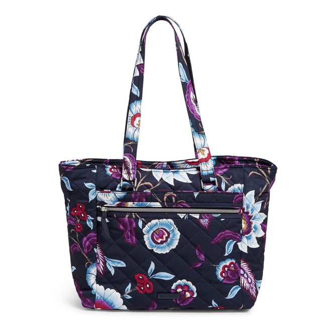 Work Tote Bag-Mayfair in Bloom-Image 1-Vera Bradley