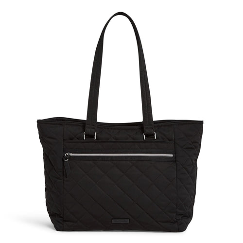 Work Tote Bag-Performance Twill Black-Image 1-Vera Bradley
