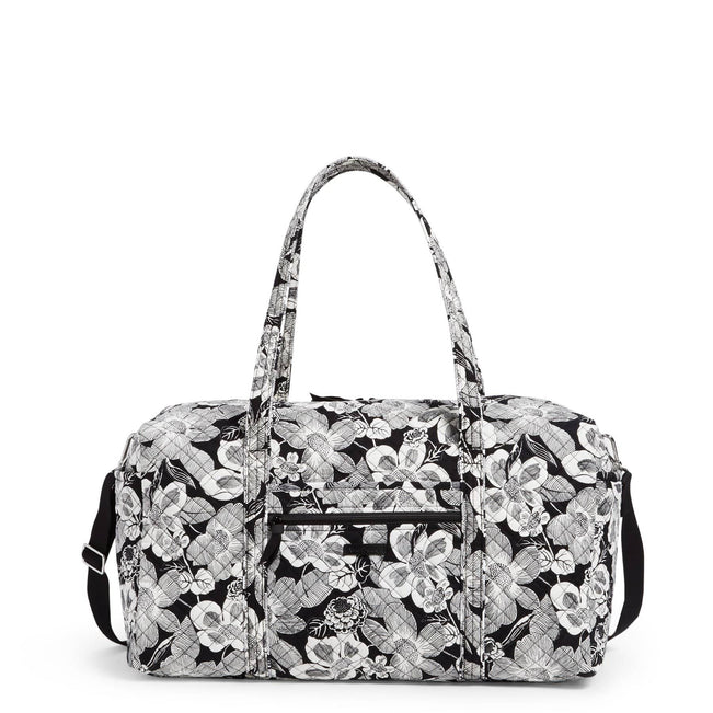 Large Travel Duffel Bag-Bedford Blooms-Image 1-Vera Bradley