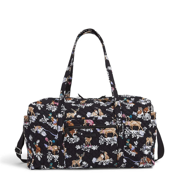 Large Travel Duffel Bag-Merry Mischief-Image 1-Vera Bradley