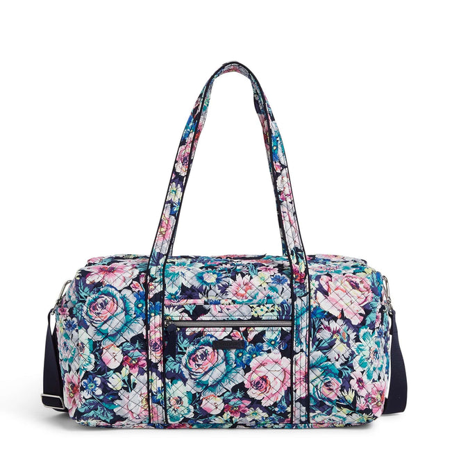 Medium Travel Duffel Bag-Garden Grove-Image 1-Vera Bradley