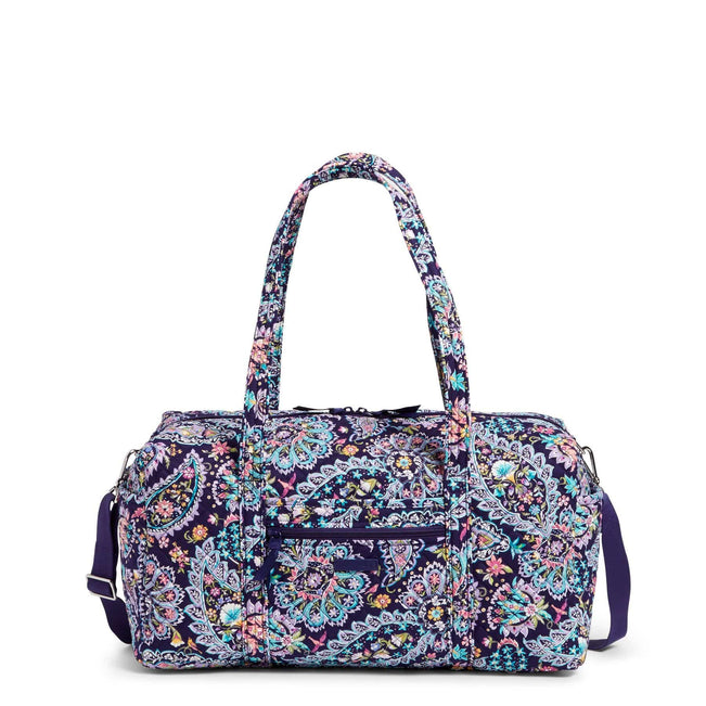 Medium Travel Duffel Bag-French Paisley-Image 1-Vera Bradley