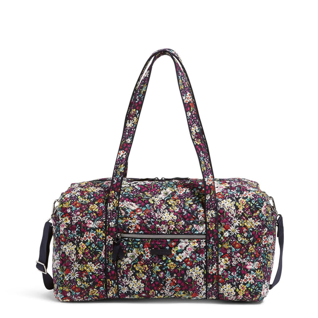 Medium Travel Duffel Bag-Itsy Ditsy-Image 1-Vera Bradley
