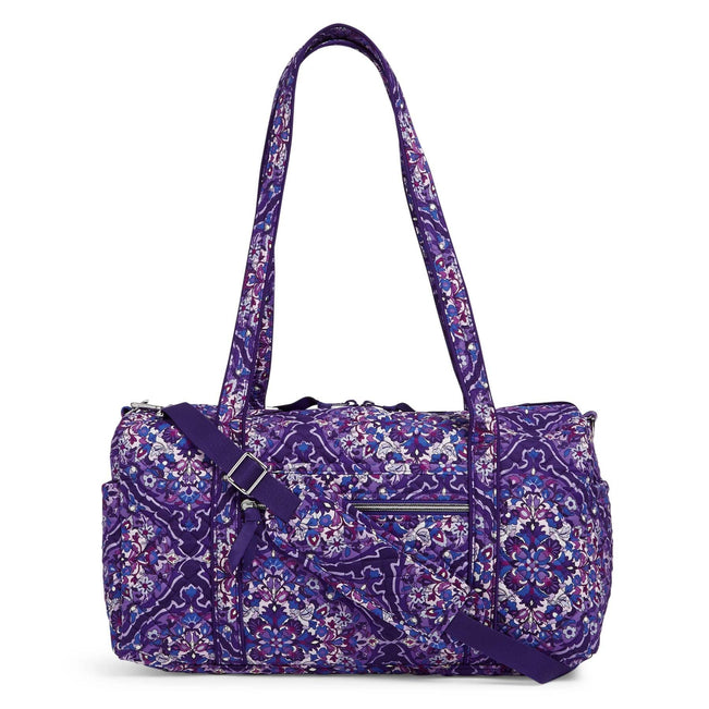 Small Travel Duffel Bag-Regal Rosette-Image 1-Vera Bradley