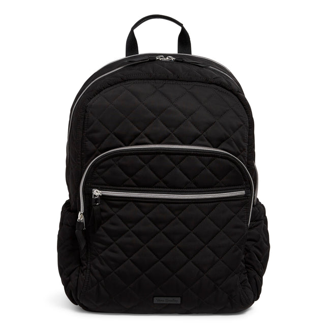 Campus Backpack-Performance Twill Black-Image 1-Vera Bradley