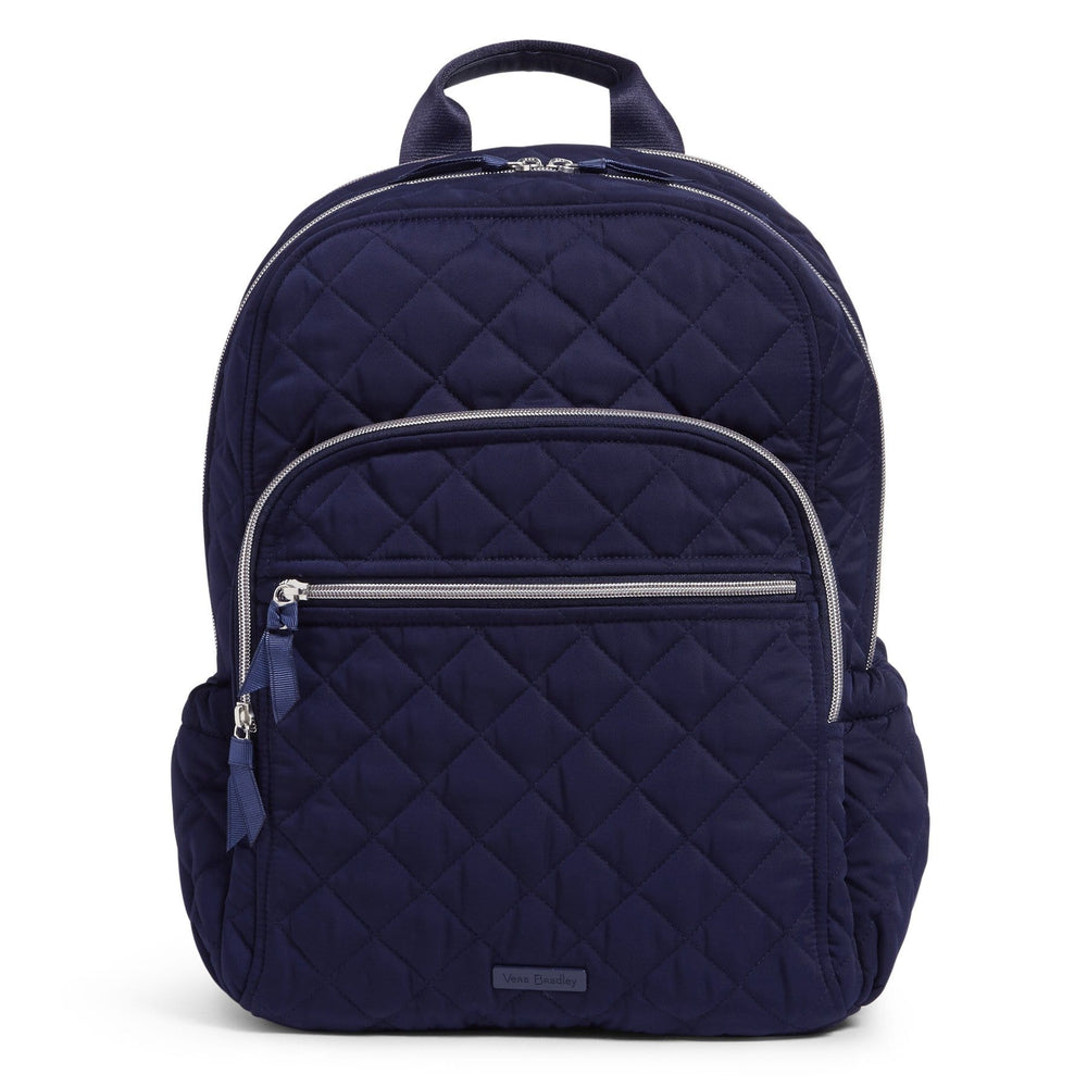 Campus Backpack-Performance Twill Classic Navy-Image 1-Vera Bradley