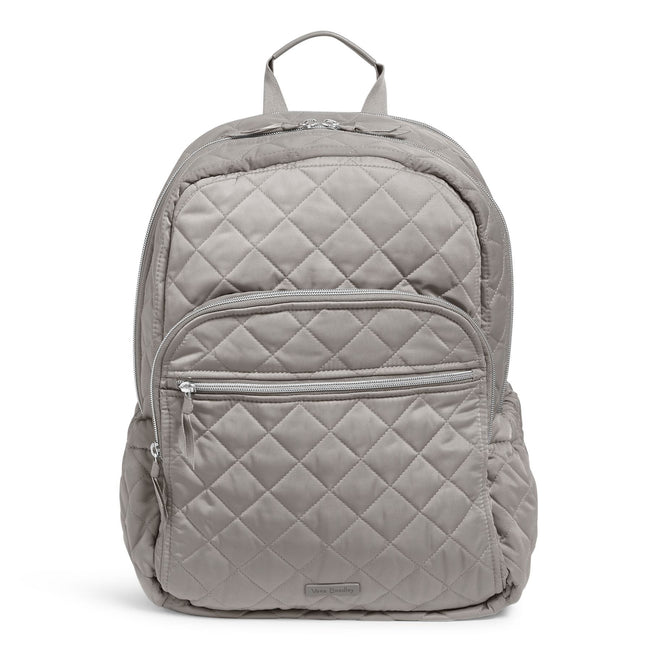 Campus Backpack-Performance Twill Tranquil Gray-Image 1-Vera Bradley