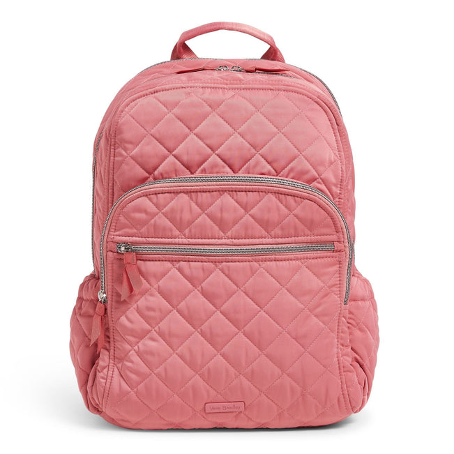 Campus Backpack-Performance Twill Strawberry Ice-Image 1-Vera Bradley