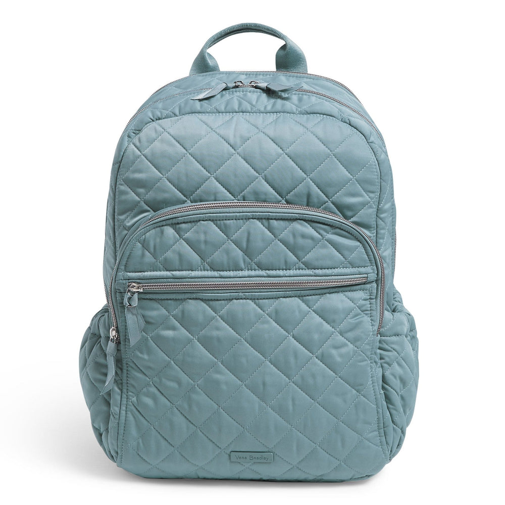 Campus Backpack-Performance Twill Blue Oar-Image 1-Vera Bradley