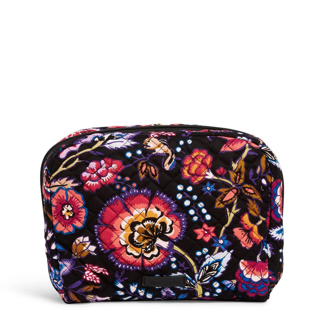 Lay Flat Cosmetic Bag-Foxwood-Image 1-Vera Bradley