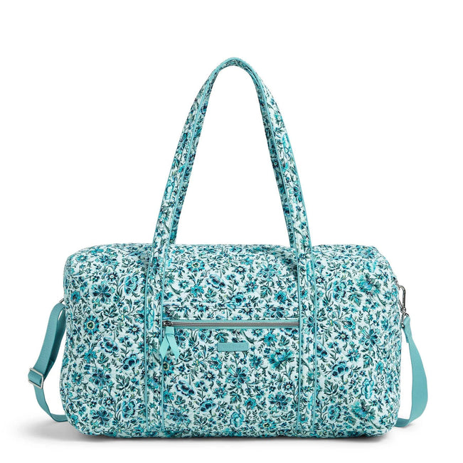 Lay Flat Travel Duffel Bag-Cloud Vine-Image 1-Vera Bradley