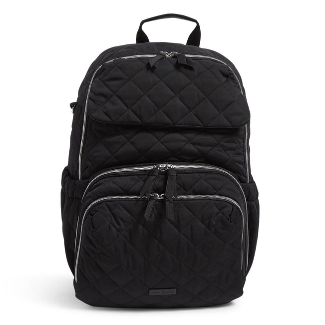 Backpack Baby Bag-Performance Twill Black-Image 1-Vera Bradley
