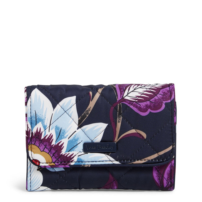 RFID Riley Compact Wallet-Mayfair in Bloom-Image 1-Vera Bradley
