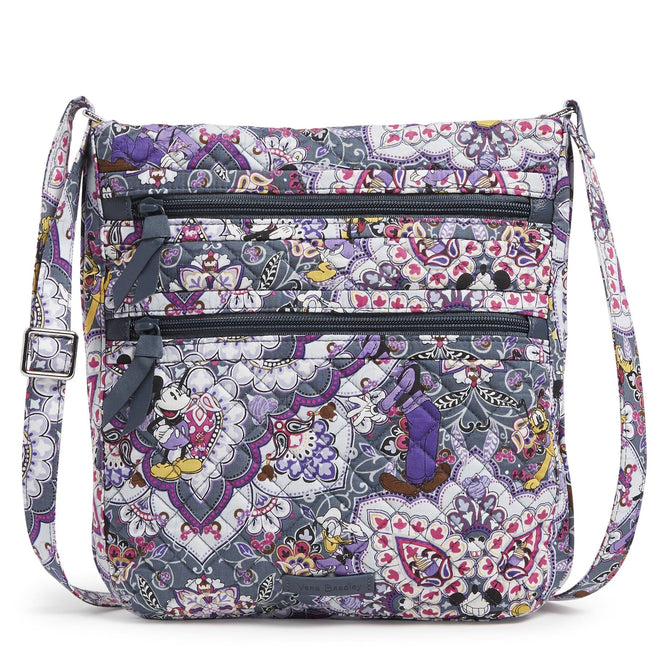 Disney Triple Zip Hipster-Mickey's Sweet Treats-Image 1-Vera Bradley