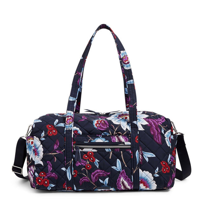 Medium Travel Duffel Bag-Mayfair in Bloom-Image 1-Vera Bradley