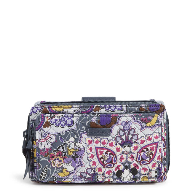 Disney RFID Deluxe All Together Crossbody-Mickey's Sweet Treats-Image 1-Vera Bradley