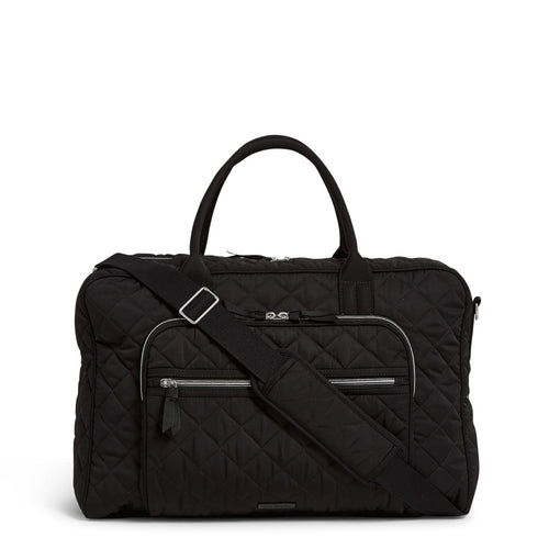 Lay Flat Weekender Travel Bag-Performance Twill Black-Image 1-Vera Bradley