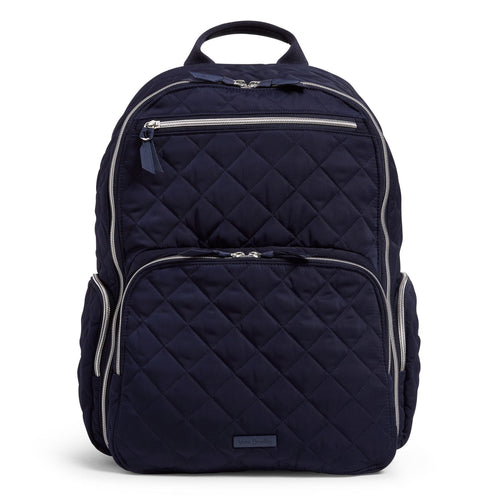 Commuter Backpack-Performance Twill Classic Navy-Image 1-Vera Bradley