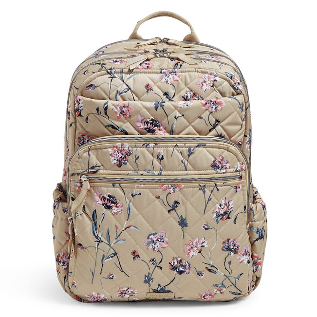 XL Campus Backpack-Strawflowers-Image 1-Vera Bradley