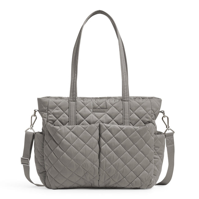 Ultimate Baby Bag-Performance Twill Tranquil Gray-Image 1-Vera Bradley