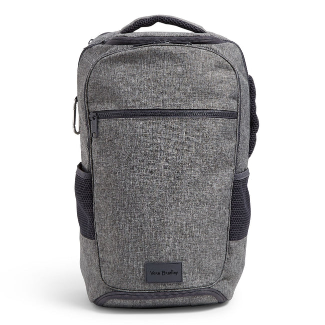 Journey Backpack-ReActive Gray Heather-Image 1-Vera Bradley