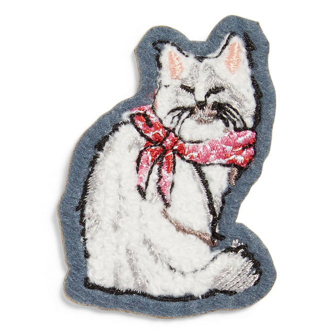 Cat Patch-White-Image 1-Vera Bradley