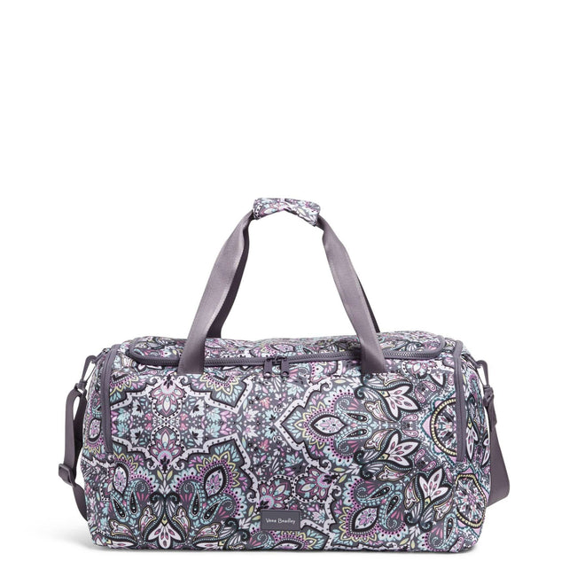 Travel Duffel Bag-Bonbon Medallion-Image 1-Vera Bradley