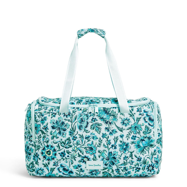 Small Gym Bag-Cloud Floral-Image 1-Vera Bradley