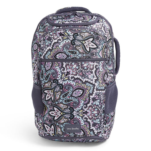 Journey Backpack-Bonbon Medallion-Image 1-Vera Bradley