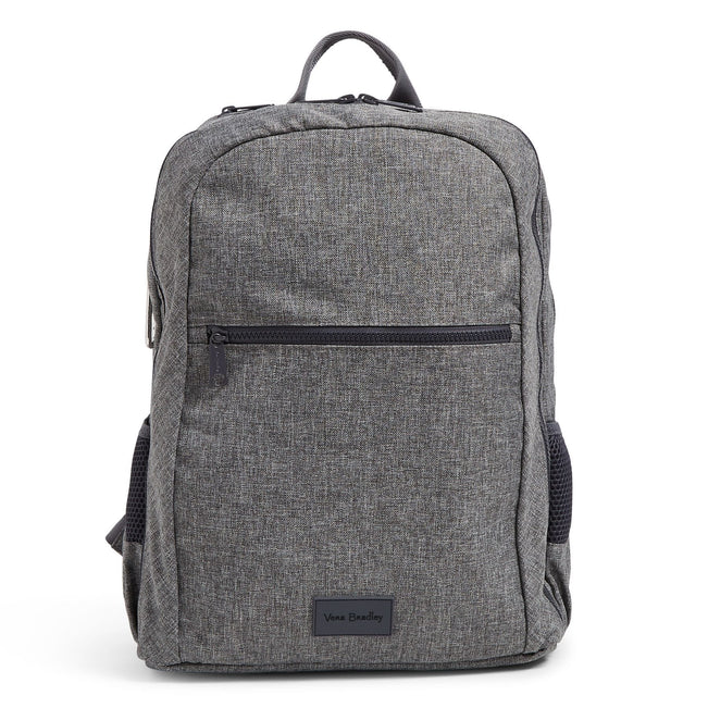 Grand Backpack-ReActive Gray Heather-Image 1-Vera Bradley