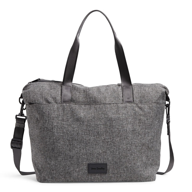 Tote Bag-ReActive Gray Heather-Image 1-Vera Bradley