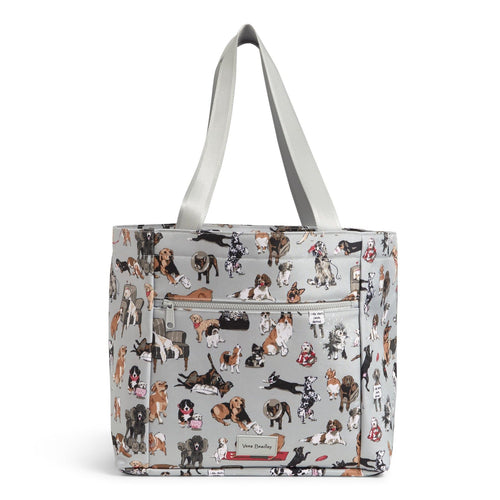 Drawstring Family Tote Bag-Best in Show-Image 1-Vera Bradley