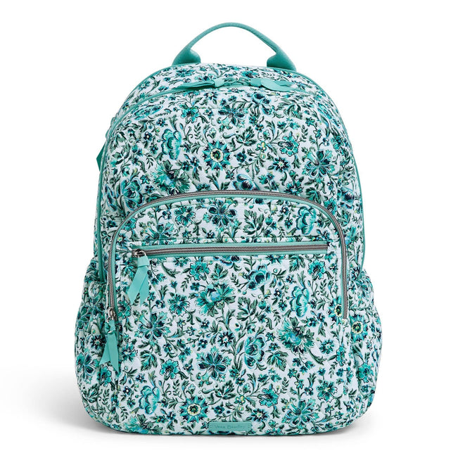 Campus Backpack-Cloud Vine-Image 1-Vera Bradley