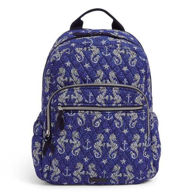 Campus Backpack-Seahorse of Course-Image 1-Vera Bradley