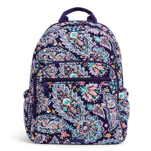 Campus Backpack-French Paisley-Image 1-Vera Bradley
