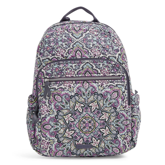 Campus Backpack-Bonbon Medallion-Image 1-Vera Bradley